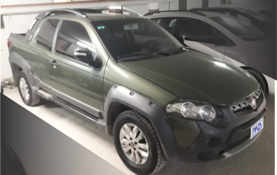 FIAT STRADA ADVENTURE 1.6 Cab. Doble 3 P.